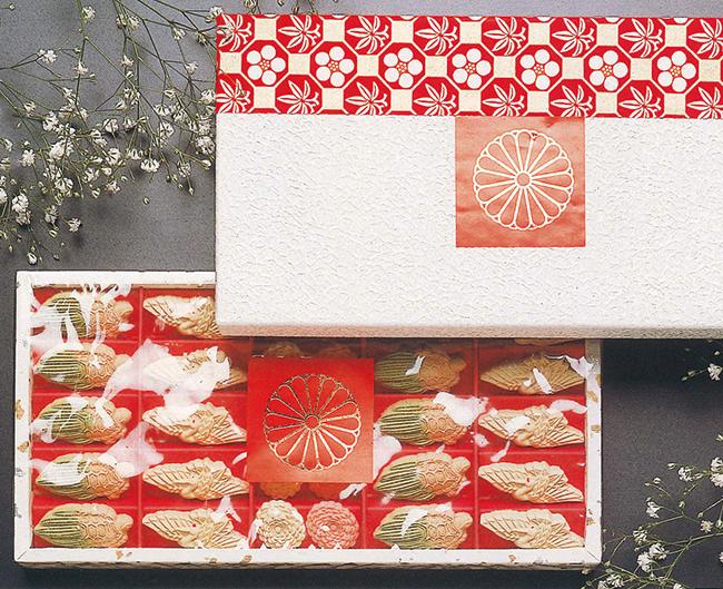 打菓子・菊三盆(鶴、亀、菊、各10個)