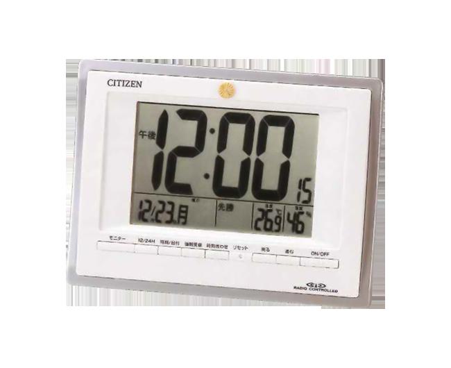 電波時計 パルデジットフレームDX