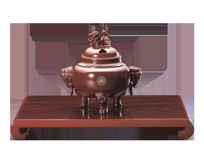 香炉  安土型(クリ台付)