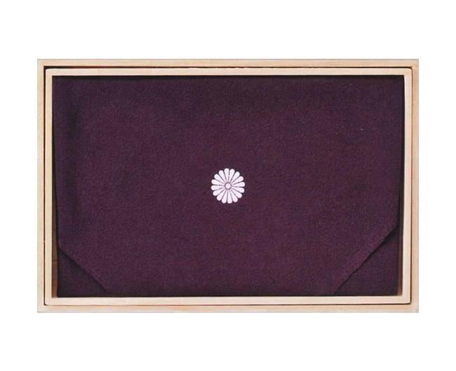 ちりめん二巾(紫)